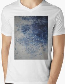 Mist Mens V-Neck T-Shirt