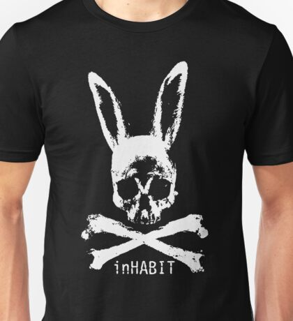 ...and so we inHABIT. (white) Unisex T-Shirt