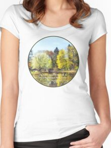 Song of Solomon 2 11-12 -  The flowers appear  Women's Fitted Scoop T-Shirt