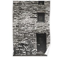 That old harbour store room. Poster