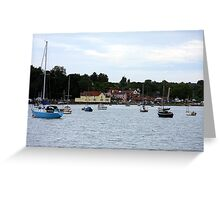 Pin Mill Greeting Card