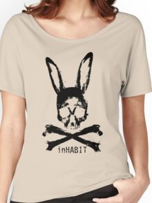 ...and so we inHABIT. (black) Women's Relaxed Fit T-Shirt