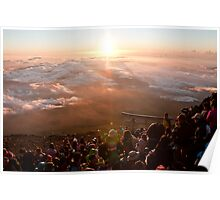 Peak of Mt. Fuji-san Poster