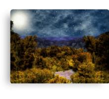 Blanket of Stars Canvas Print