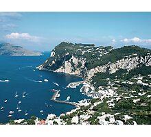 Italy, Capri Photographic Print