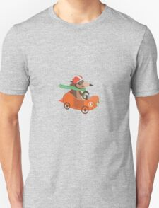 Hamster Car T-Shirt