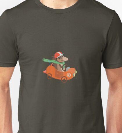 Hamster Car Unisex T-Shirt