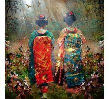 Geisha Walk Photographic Print