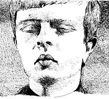 Ian Curtis by JessPJArt