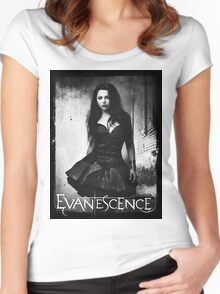 Amy Lee From Evanescence Women's Fitted Scoop T-Shirt