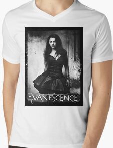 Amy Lee From Evanescence Mens V-Neck T-Shirt