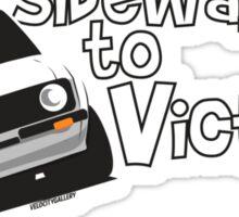 Ford Escort Rally Car Sticker