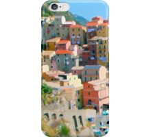 Italy. Cinque Terre - Cliffside iPhone Case/Skin