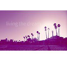 Santa Cruz Beach  Photographic Print