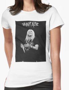 Jenna Mcdougall - Tonight Alive. Womens Fitted T-Shirt
