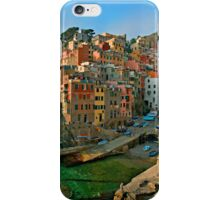 Italy. Cinque Terre - canals iPhone Case/Skin