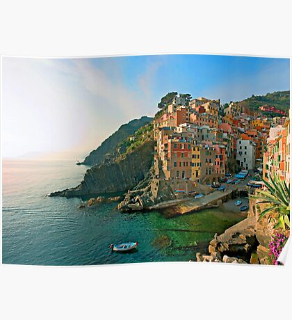 Italy. Cinque Terre - canals Poster
