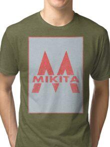 Retro 60's CTA Sign Mikita Tri-blend T-Shirt