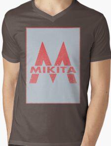 Retro 60's CTA Sign Mikita Mens V-Neck T-Shirt