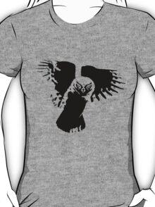Inkblot Owl T-Shirt T-Shirt