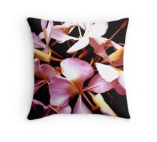 """Flower in the Dark"" Throw Pillow"