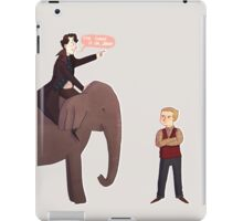 The Elephant in the Room iPad Case/Skin