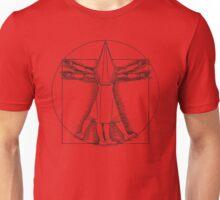 Vitruvian Pyramid Head Unisex T-Shirt
