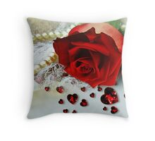 Romance & Old Lace Throw Pillow