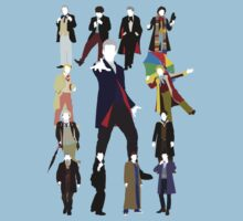 All Thirteen! (Version 2) - Doctor Who by Ebonrook