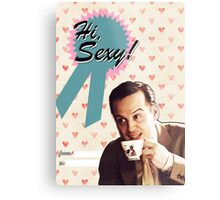 Moriarty Valentine's Day Card Metal Print