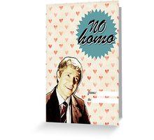 John Watson Valentine's Day Card Greeting Card