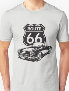 Route 66 - 1960 Corvette T-Shirt