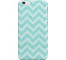 Chevron Aqua Dreams iPhone Case/Skin
