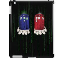 Take The Blue Box iPad Case/Skin