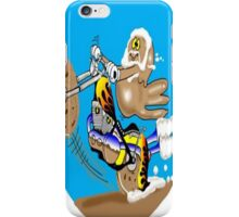 MOTORCYCLE CARTOON iPhone Case/Skin