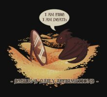 Smaug's Daily Affirmations One Piece - Long Sleeve
