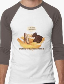 Smaug's Daily Affirmations Men's Baseball ¾ T-Shirt