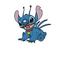 Stitch is so cute Photographic Print
