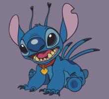 Stitch is so cute Kids Tee