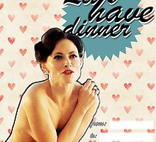 Irene Adler Valentine's Day Card by thescudders