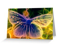 Spirit of a Butterfly Greeting Card