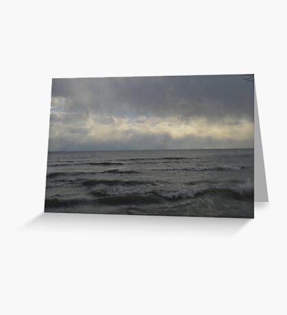 Choppy Waters Greeting Card