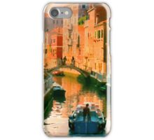 Italy. Venice Silent path iPhone Case/Skin