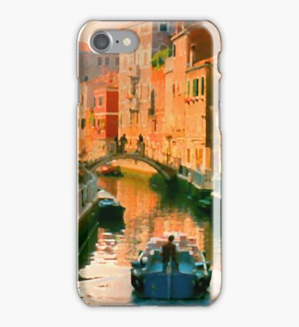Italy. Venice Silent path iPhone Case/Skin