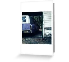 the purple hearse Greeting Card