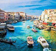 Italy. Venice Boat way by JessicaRoss