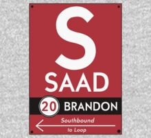 Retro CTA sign Saad T-Shirt