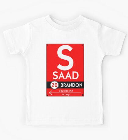 Retro CTA sign Saad Kids Clothes