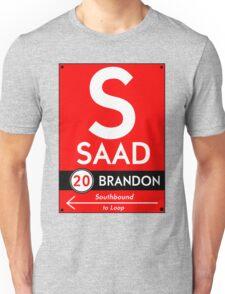 Retro CTA sign Saad T-Shirt