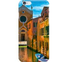 Italy. Venice motorway iPhone Case/Skin